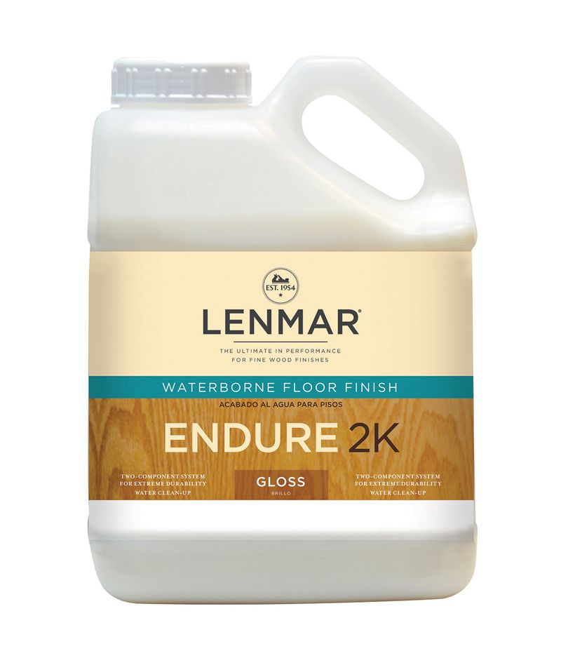 Лак двухкомпонентный + отвердитель, LENMAR Endure — 2K