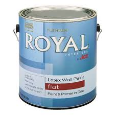 Американская матовая краска Royal Interiors Wall Paint Flat interior acrylic latex